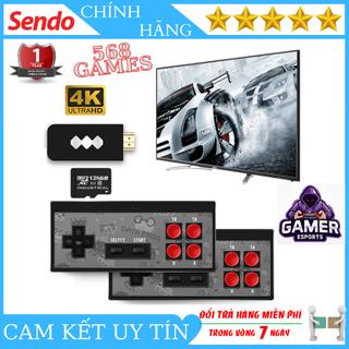 ( Bảo Hành 12 Tháng ) Máy Chơi Game Cầm Tay Không Dây NES Y2 Plus Phân Giải 4K Chuẩn HDMI Với 568 Game Và 2 Tay Cầm Cực Đã - MCG Y2 4K 568 thumbnail