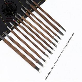 Bộ 11 dụng cụ khắc trổ đa năng - thép cao cấp thumbnail