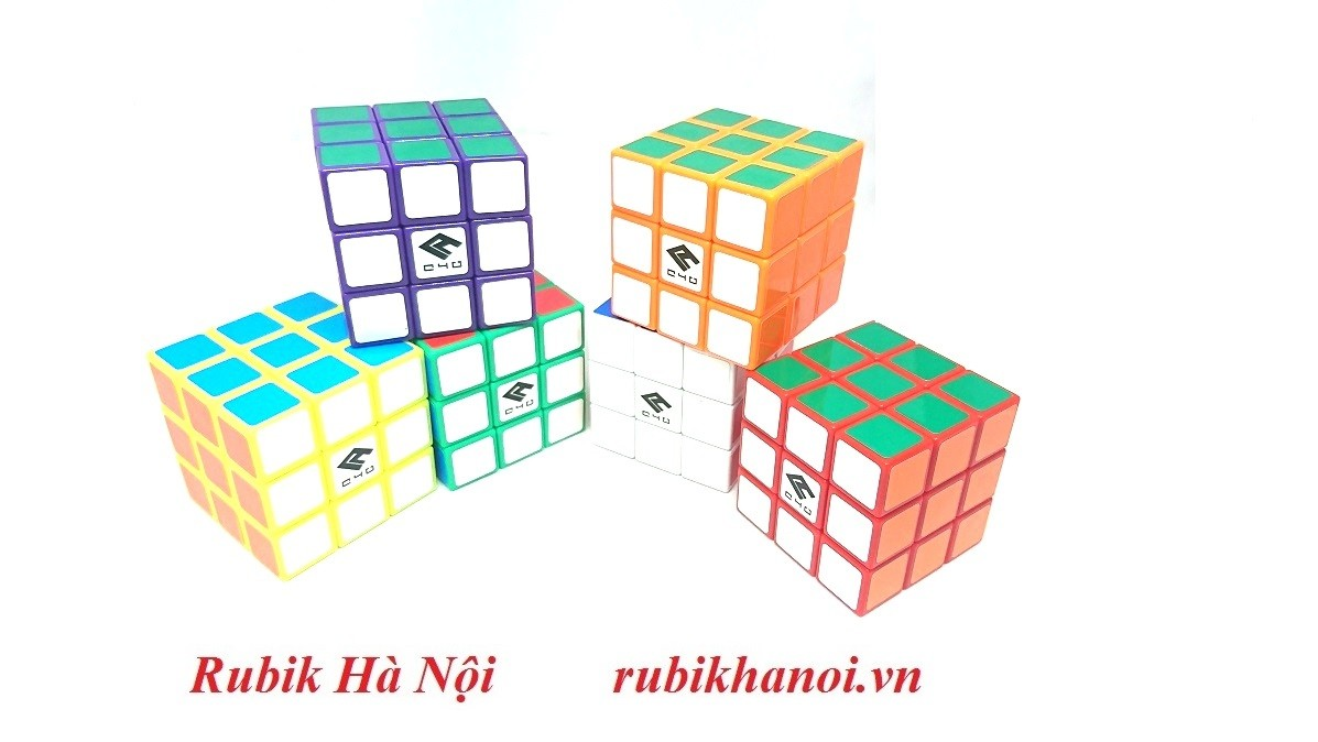 Rubik 3x3 C4U Vuông White Có Nam Châm. Rubik luyện Finger Tri s FT Tốt Nhất [ĐƯỢC KIỂM HÀNG] - SHOPBAN6795VN 7