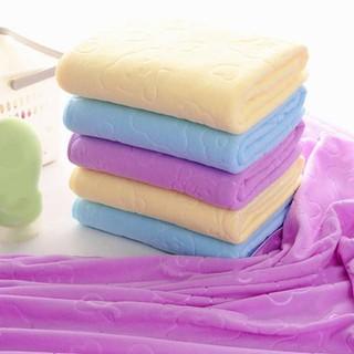 Combo 3 khăn tắm xuất Nhật mềm mịn 140 x 70 cm - 45vb thumbnail