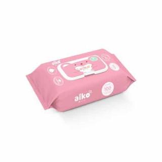 Khăn ướt cho bé Aiko 100 tờ không mùi - KGUA thumbnail