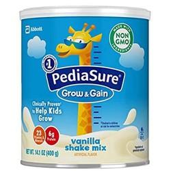 Sữa bột pediasure grow and gain xách tay pedia sure bột xuất xứ Mỹ 400g [ Mẫu Mới]