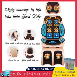 Ghế Massage hồng ngoại tr-ị liệu GM418, giảm đau nhức xương khớp cho người lớn tuổi, giảm thiểu đau nhức mệt mỏi - GM418 thumbnail