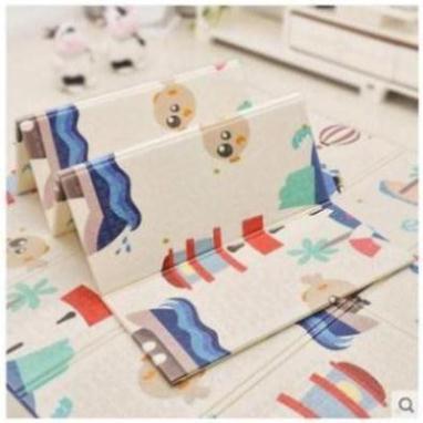 Thảm trải sàn xốp XPE 2 mặt phủ Silicone Hàn Quốc mẫu đẹp chống thấm tuyệt đối chống ngã cho bé tập bò kèm túi 1m8- 2m [ĐƯỢC KIỂM HÀNG] - SHOPBAN6254VN 5