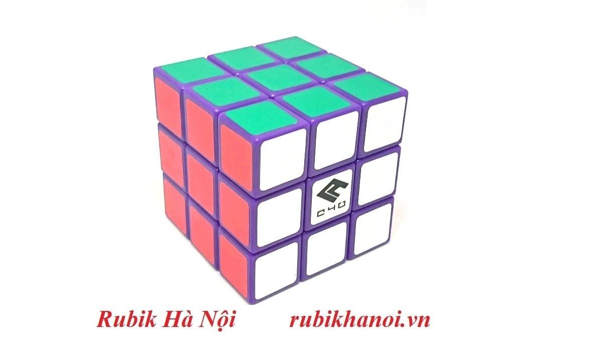 Rubik 3x3 C4U Vuông White Có Nam Châm. Rubik luyện Finger Tri s FT Tốt Nhất [ĐƯỢC KIỂM HÀNG] - SHOPBAN6795VN 6