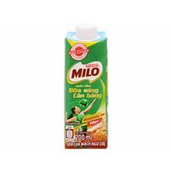 Combo 5 hộp Sữa lúa mạch ngũ cốc ít đường Milo nắp vặn hộp 200ml