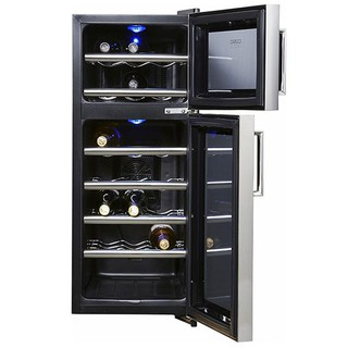 Tủ Đựng Vang CASO WineDuett 21 Chai - Hàng Nhập Khẩu Đức, Giúp Bảo Quản Vang, Điều Chỉnh Nhiệt Độ Từ 5-20 Độ [ĐƯỢC KIỂM HÀNG] 41543462 - 41543462 thumbnail