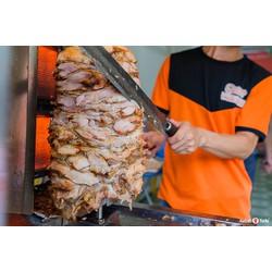 Gia vị ướp thịt Doner Kebab - Bánh mì Thổ Nhĩ Kỳ