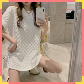 áo thun nữ form rộng tay ngắn cực chất giá rẻ phong cách hàn quốc 2021 - 7279811541 thumbnail