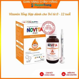 (Tặng quà xinh) Novita Drops - Vitamin tổng hợp cho Trẻ tăng cường hấp thu dinh dưỡng - Novita thumbnail