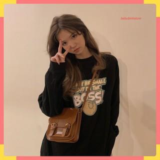 Áo thun nữ dài tay BOSS Unisex phong cách ulzzang Hàn Quốc thời trang - 5964076176 thumbnail