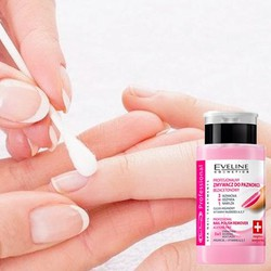 Nước tẩy sơn móng tay & dưỡng móng Eveline Nail Therapy 190ml