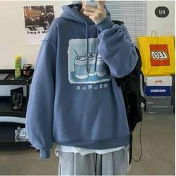 Áo hoodie 3 lon nước happy dập nổi, Áo nỉ hoodie tay phồng 3 ly nước happy chất nỉ mềm nhẹ, không bai xù, form dáng rộng hàn quốc, size dưới 68kg