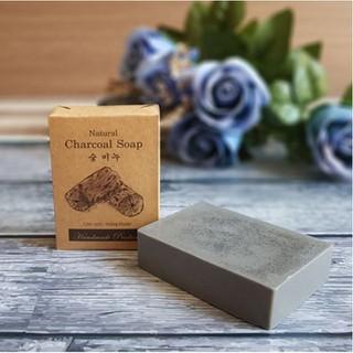 Xà phòng than hoạt tính Ecoskin Charcoal Soap - NDXP.007 thumbnail