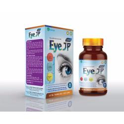 Viên Uống Bổ Mắt Eye JP- Bổ Sung Dưỡng Chất Giúp Bổ Não, Sáng Mắt, Khỏe Tim Mạch- Chống Cận Mù Lòa- Hộp 30 viên