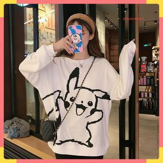 Áo Thun Dài Tay Nam Nữ In Hình Pikachu Ngộ Nghĩnh - 6165318771 thumbnail