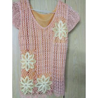 Áo ren hoa đính đá phong cách thời trang - MSN4 thumbnail