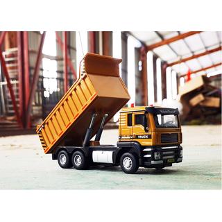 Mô hình xe tải đồ chơi xe ben Mô hình xe ben chất liệu thép - DC050 thumbnail