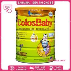 [CHO XEM HÀNG] Sữa Non Colosbaby BIO Số 0 800G - Cho Trẻ Từ 1-2 Tuổi - Hỗ Trợ Hệ Miễn Dịch Và Tiêu Hóa