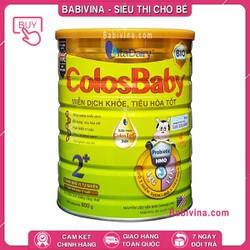 [CHO XEM HÀNG] Sữa Non Colosbaby BIO Số 2 800G - Cho Trẻ Từ 2 Tuổi - Giúp Hỗ Trợ Hệ Miễn Dịch Và Tiêu Hóa
