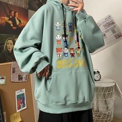 Áo nỉ hoodie nam nữ in hình độc lạ form rộng hàn quốc dưới 70kg, chất nỉ mềm mịn, Áo nỉ hoodie nam nữ form rộng,Aó hoodie nam , áo hoodie nữ , áo khoác áo hoodie cặp đôi nam nữ mặc