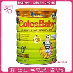 [CHO XEM HÀNG] Sữa Non Colosbaby BIO Số 0 800G - Cho Trẻ Từ 0-12 Tháng Tuổi Giúp Hỗ Trợ Hệ Miễn Dịch Và Tiêu Hóa