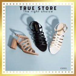 Sandal chiến binh thời trang nữ cao cấp đế cao 7 phân phong cách Hàn Quốc  True Store đảm bảo  CS001