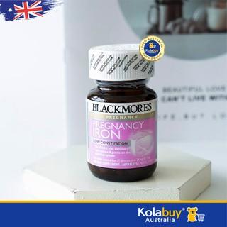 [Tem Chemist] Viên sắt Blackmores cho bà bầu của Úc Blackmores Iron 30 viên, mẫu mới, giá rẻ - MBABLM002 thumbnail
