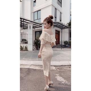 váy ren cao cấp - V1872 thumbnail