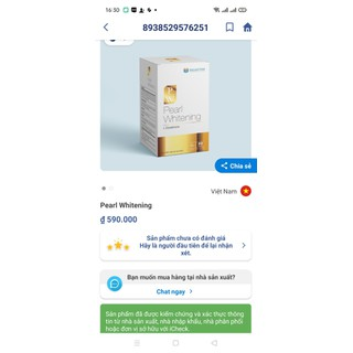 Viên Uống Trắng Da Toàn Thân Pearl Whitening- Với thành phần L-Glutathion,L-cystine Giúp trắng da, mờ nám, tàn nhang- hộp 30 viên - Viên Uống Trắng Da Toàn Thân Pearl Whitening- 6