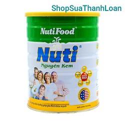 [HSD T3-2023] Sữa bột nguyên kem của NutiFood (900g)