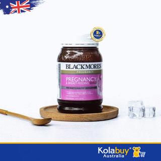 Viên uống Vitamin cho bà bầu và phụ nữ sau sinh Blackmores Pregnancy and Breastfeeding Gold 180 viên chuẩn Úc, date xa, giá rẻ - VTMBLM003 thumbnail