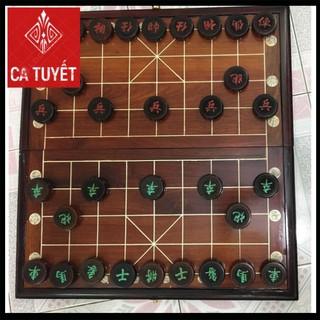 Bộ bàn cờ tướng bằng gỗ trắc gỗ hương cao cấp - 9424620413 thumbnail