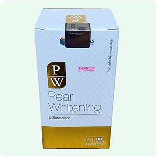 Viên Uống Trắng Da Toàn Thân Pearl Whitening- Với thành phần L-Glutathion,L-cystine Giúp trắng da, mờ nám, tàn nhang- hộp 30 viên - Viên Uống Trắng Da Toàn Thân Pearl Whitening- 2