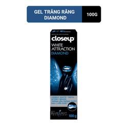 Kem Đánh Răng dạng GEL Closeup White Attraction Diamond 100g