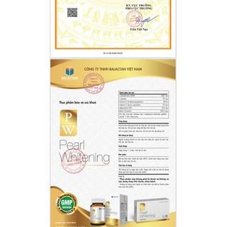 Viên Uống Trắng Da Toàn Thân Pearl Whitening- Với thành phần L-Glutathion,L-cystine Giúp trắng da, mờ nám, tàn nhang- hộp 30 viên - Viên Uống Trắng Da Toàn Thân Pearl Whitening- 5