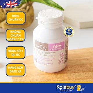 Viên uống Bổ sung DHA cho bà bầu Bio Island DHA 60 viên chuẩn Úc, date xa, giá rẻ - MBABIO001 thumbnail