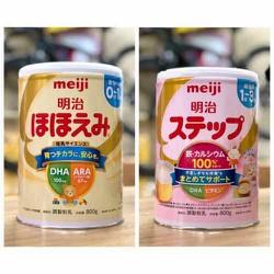 [ Mẫu Mới] Sữa Meiji Nội Địa Nhật Số 0 và 9 hộp 800g Date (05/2022)