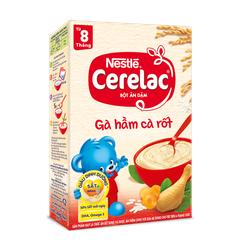 Bột Ăn Dặm Nestlé Cerelac Gà Hầm Cà Rốt (200g)