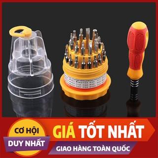 Bộ tua vít 31 đầu sửa chữa đồ gia dụng cực hiệu quả - BTV31D-1 thumbnail