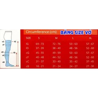 VỚ ĐÙI SUY GIÃN TĨNH MẠCH BIOHEALTH CLASSIC size S [ĐƯỢC KIỂM HÀNG] 41596065 - 41596065 thumbnail