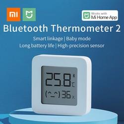 [CAM KẾT CHÍNH HÃNG] Ẩm kế thông minh Xiaomi Mijia Gen 2 - Đồng hồ đo nhiệt độ, độ ẩm Bluetooth Mijia gen 2