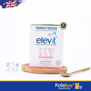 Viên uống Bổ sung Vitamin tổng hợp cho bà bầu Elevit Multivitamin 100 viên mẫu mới, chuẩn Úc, giá rẻ - MBAELV001 thumbnail