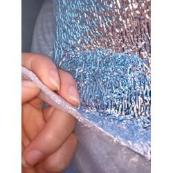 5m dài x khổ 1 m xốp bạc 3 mm PE foam cách nhiệt lót sàn chống sốc bao gói hàng hải phòng