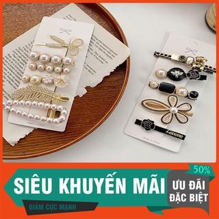 Set 6 Kẹp Tóc Kiểu Dáng Thời Trang Phong Cách Hàn Quốc Cho Nữ - S6KTNT-1 thumbnail