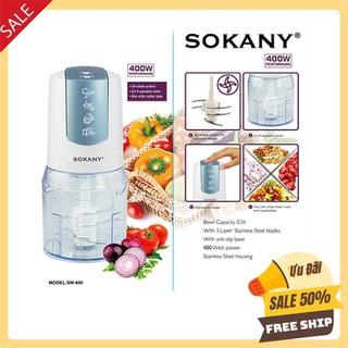 Máy xay sinh tố cầm tay mini xay thịt cá xay ăn dặm cho bé chính hãng Sokany - MÁY XAY THỊT SOKANY 400 - 1 - 0329 thumbnail