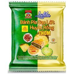 LaLiLa _ 190g 2 Bánh PÍA chay GẠO huyết rồng THƠM chín CHANH tươi, KHÔNG sầu riêng, CANXI khỏe xương, vitaC ngừa virút