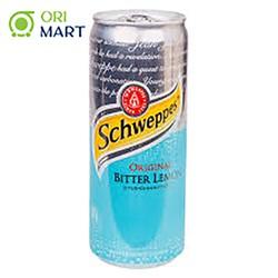 SchweppesOriginal Bitter Lemon 330 ml - Nước ngọt có ga vị chanh đắng ORIGINAL SCHWEPPES 330ml