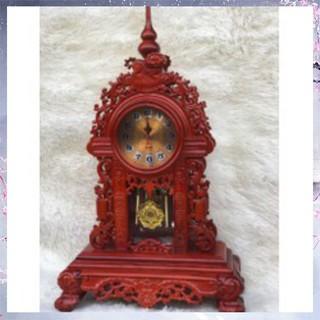 Đồng hồ để bàn gỗ Hương cao 78cm - 8224568653 thumbnail