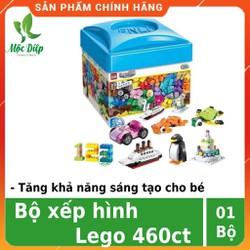 Lego ninjago - Bộ đồ chơi xếp hình cho bé Lego 460 miếng - Lego ninja 460 chi tiết